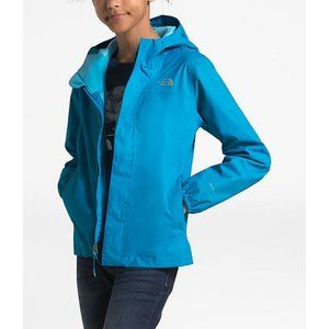 The North Face Girls Blue Rain Jacket
